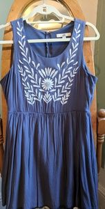 French Blue Sundress